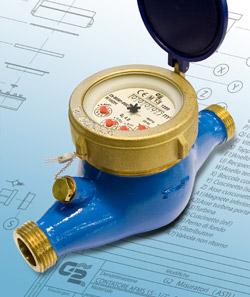 AFMS / AFM - Contatori per acqua a getto multiplo MULTY MID.