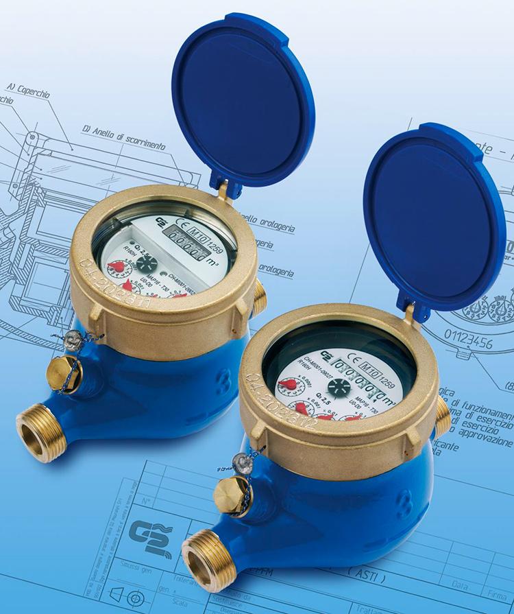 BFM / BCM / PFM - Multi-jet water meters MULTY MID.