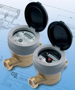 BFU / BCU / PFU / PCU - Single-jet water meters UNY MID.