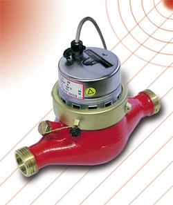 CACML - Multi-jet flow sensor suitable for heating purposes