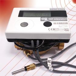COMPACT2 - Misuratore di volume compatto getto unico per calore.