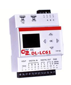 Contatori acqua. Sistemi di lettura a distanza per contabilizzazione consumi: Rtu Datalogger M-Bus via cavo DL-LC61.