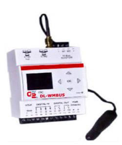 Contatori acqua: sistemi di lettura a distanza per contabilizzazione consumi: Datalogger wireless M-Bus DL-WMBUS.