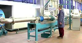 Banchi di collaudo approvati dal Ministero delle Attività Produttive per la Verifica Prima CEE sui contatori d'acqua.