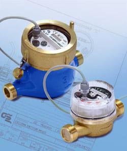 Contatori acqua: trattamento acqua.