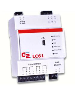 Contatori acqua. Sistemi di lettura a distanza per contabilizzazione consumi: Level Converter M-Bus LC61.