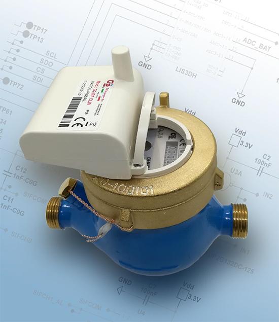 Modello QDFM-R-CLW con protocollo LoRaWan per rete fissa e LoRa per Walk-by / Drive-by e modello QDFM-R-WMB freq.868 Mhz con protocollo W-Mbus per Walk-by / Drive-by.