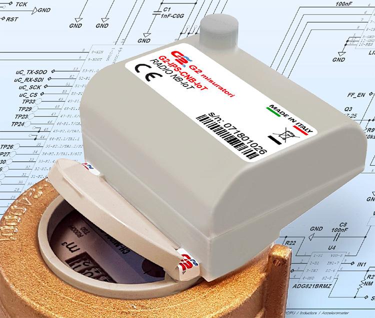 Modulo radio protocollo NB-IoT.