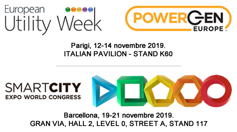European Utility Week 2019 e Smart City 2019.