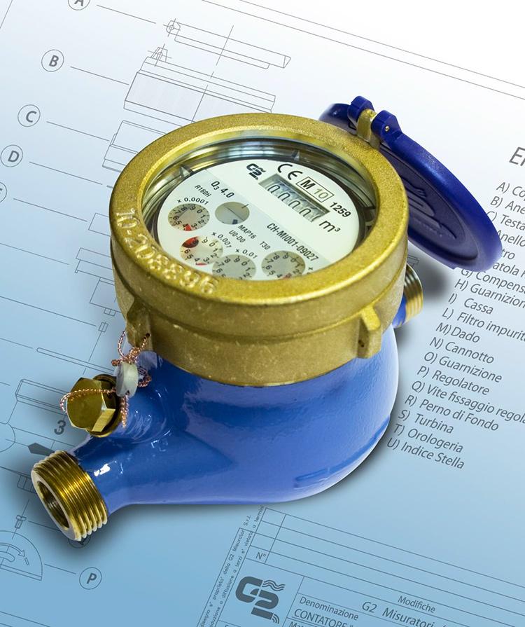 QDFM - Multi-jet water meters MULTY MID.