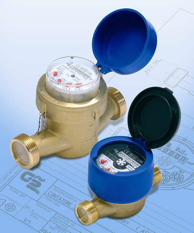 Contatori acqua: SFU / SCU / AFU - Contatori per acqua a getto unico UNY MID.