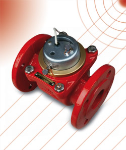 WELC - Woltmann flow sensor suitable for heating purposes